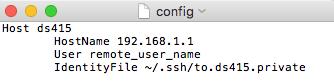 Настройка файла config